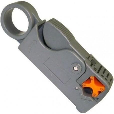 Cortador Pelador Cable Coaxial Rg6, Rg59, Rg58
