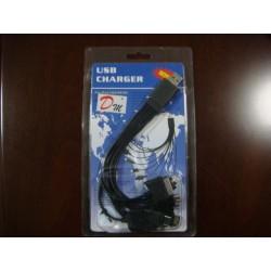 Cable usb a 10 conectores 23cm