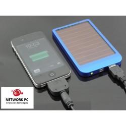 Bateria externa usb 2600 mah solar