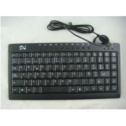 Teclado Mini usb - Color Negro