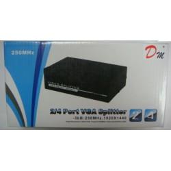 Adaptador VGA Splitter 1 a 4 250mhz