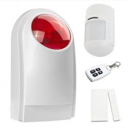 Alarma con sensor, puerta y control Remoto