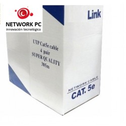 Cable De Red - Utp Cat 5e / 305mts