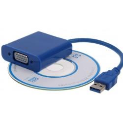 Cable usb 3.0 a vga